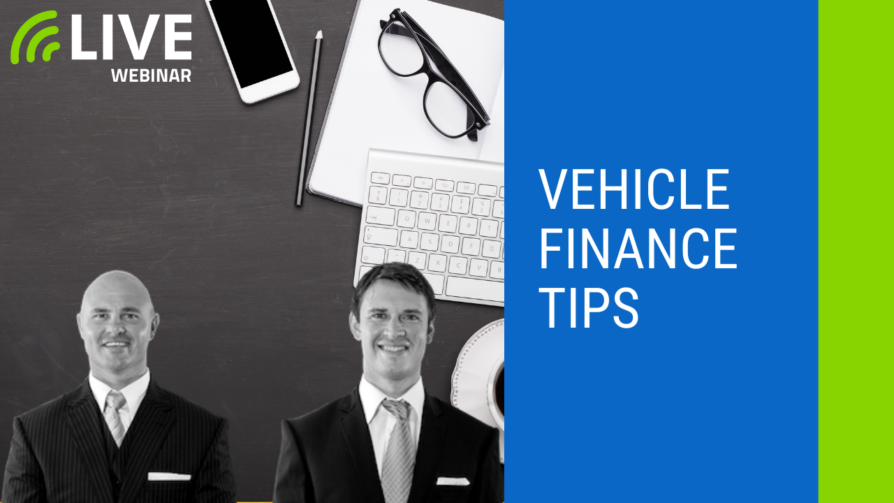 vehicle finance tips